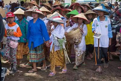Festival Tanam Padi Lampung Timur 2017