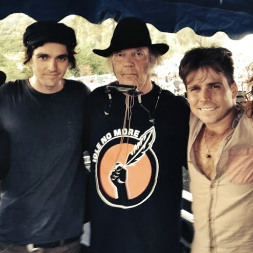 Micah Nelson, Neil Young, Lukas Nelson