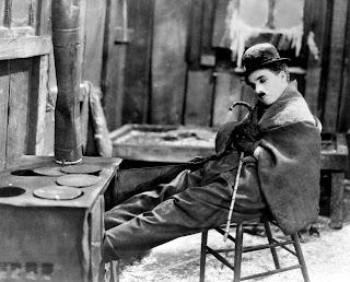 Chaplin en su papel del vagabundo Charlot