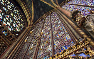 Sainte Chapelle capilla interior