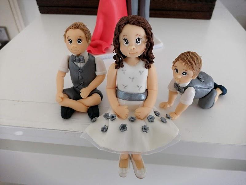 Meninos casamento (para bolo)