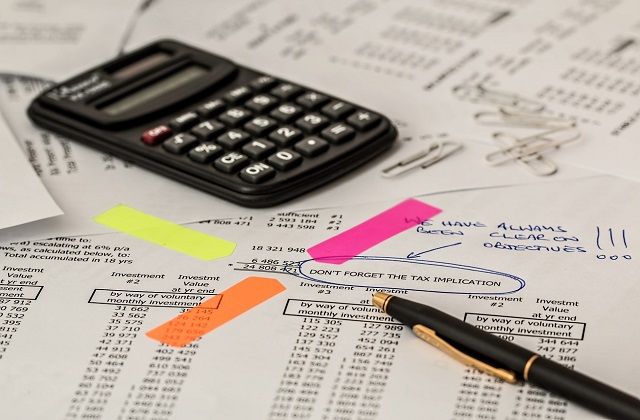 taxes bookkeeping