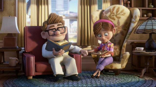 Fotograma de la película de animación Up de Disney Pixar