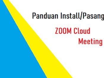 Cara Install / Pasang Zoom pada PC