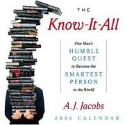 The Know It All book cover