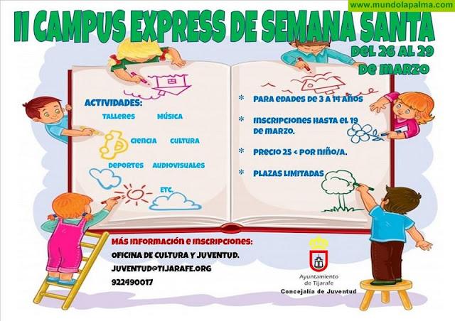 II Campus Express de Semana Santa en Tijarafe