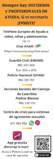 RECURSOS DE PROTECCIÓN DE MENORES - PIDE AYUDA