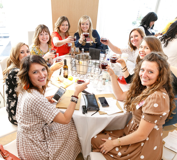 Toasting at the BHG Stylemaker Event 2018