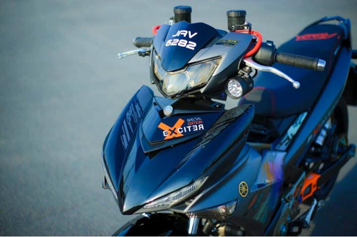 Yamaha Exciter lột xác đẹp như xe đua với dàn trang bị 'chất ngất'