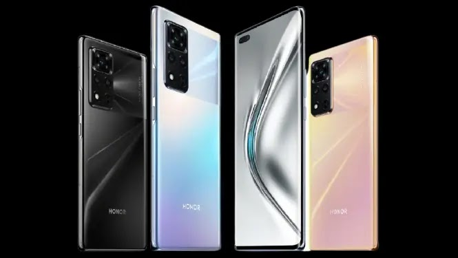 Honor V40 with Four Other Honor Phones Certified By EEC