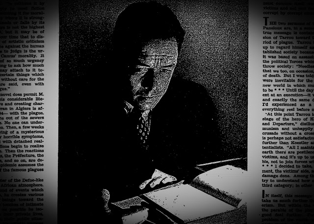 Review of Camus's The Plague in the New York Times Book Review, August 1948