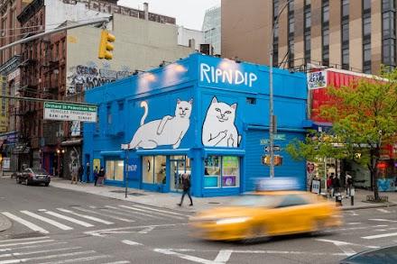 Der verrückte Pop-Up Store von RIPNDIP in New York | Streetwear für Skater und Co.