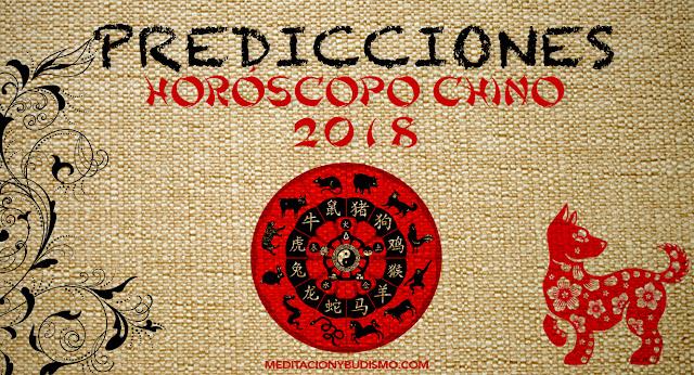 Horóscopo chino 2018- Predicciones