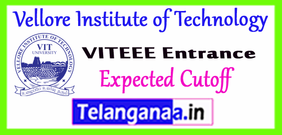 VIT Vellore Institute of Technology Expected Cutoff 2018 Entrance Result