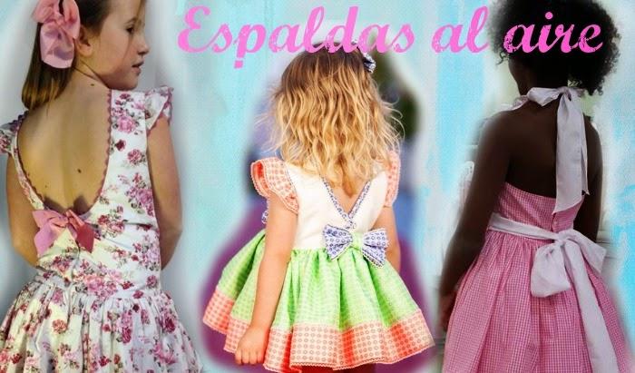 vestidos con la espalda descubierta niña