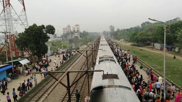 Dhaka to Joydebpur Train Schedule