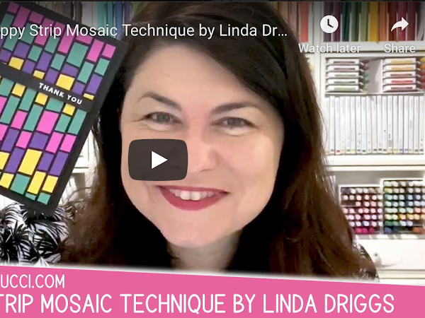 VIDEO: Scrappy Strip Mosaic Technique by Linda Driggs