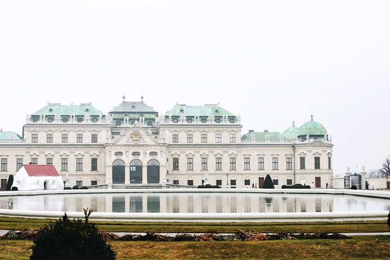 Belvedere palace complex of Upper and Lower Belvedere