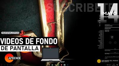 Como Poner VIDEOS DE FONDO DE PANTALLA en PC | GRATIS Y FACIL
