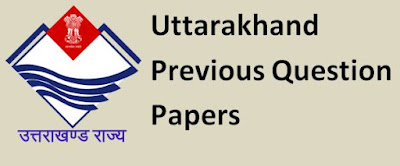 Uttarakhand Previous Papers