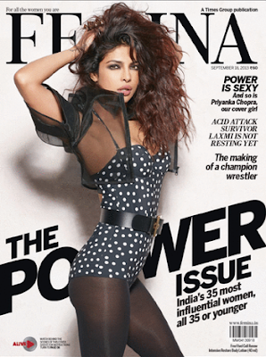 POWER IS SEXY And so is Priyanka Chopra on Femina's POWER issue