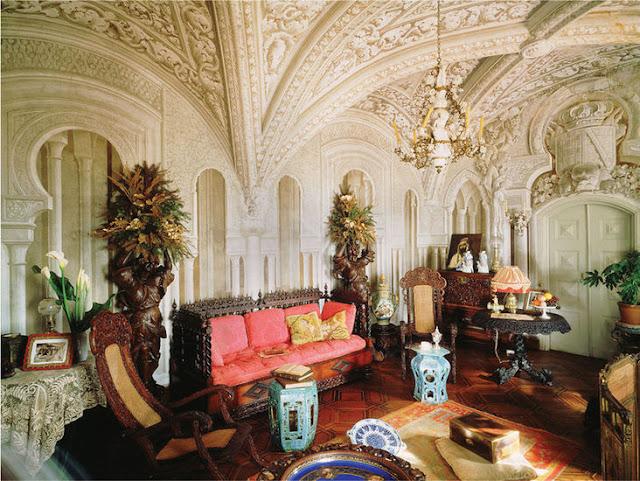 Interior do Palácio da Pena em Sintra