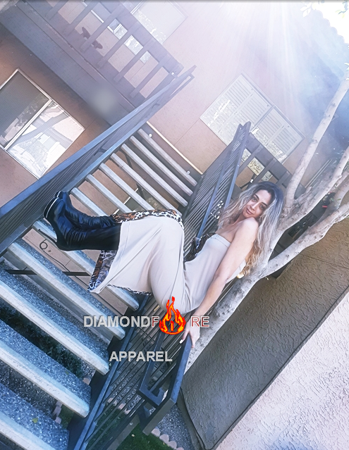 Model Young T featuring Diamondfire Apparel by DesignerAfi