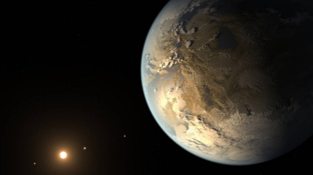 NASA kepler discovers first Earth-Size planet in the habitable zone