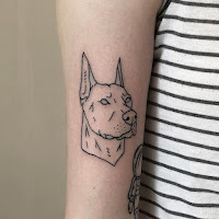 doberman tattoo