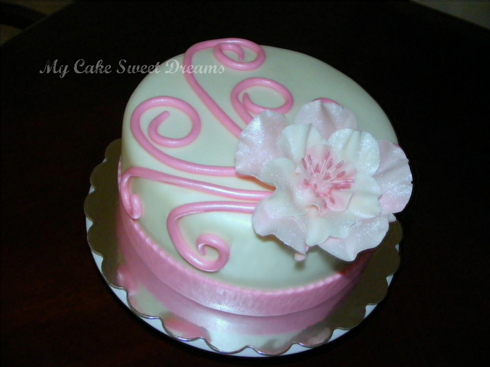 My Cake Sweet Dreams Moms Birthday Cake
