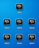 Kumpulan BBM MOD Clone Versi Terbaru v3.1.0.13 APK Dual BBM MOD