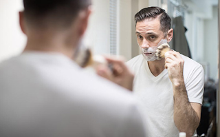 Apply with the best shaving brush
