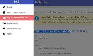 gambar Jadwal ujian PPG dalam jabatan 2018