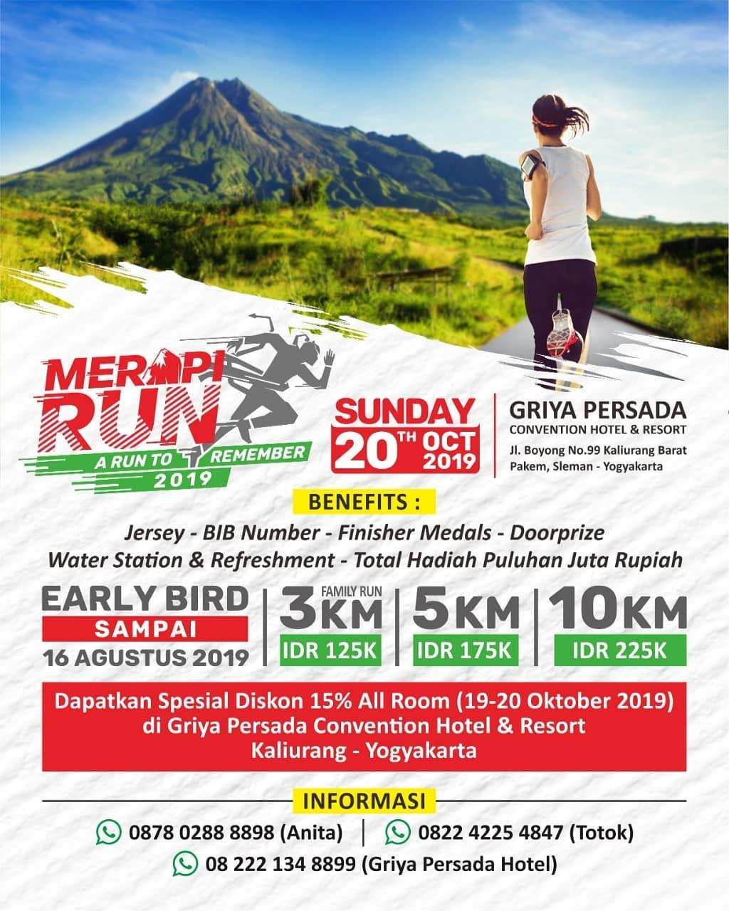 Merapi Run • 2019