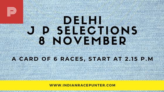 Delhi Jackpot Selections 8 November