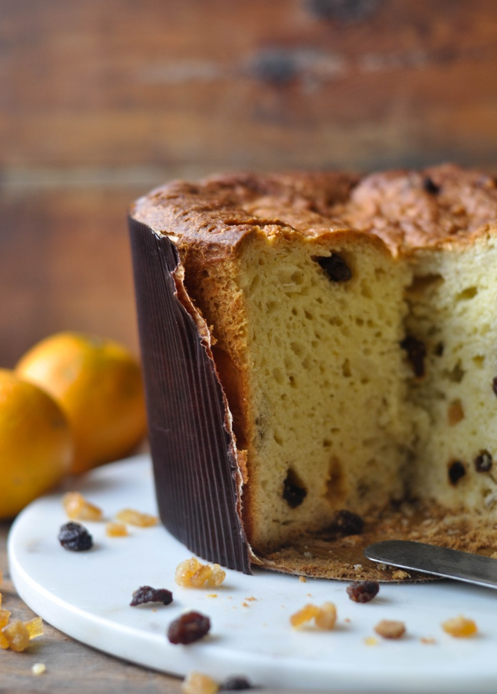 gluten free Panettone tradizionale, easy to make and oh-so good!