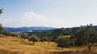 The countryside around Mugello in northern Tuscany, the historic region north of Florence