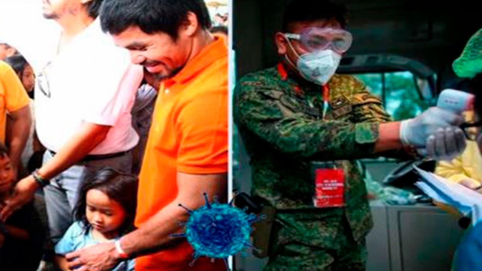 Pacquiao está en Filipinas ayudando en crisis por coronavirus: «No temo morir»