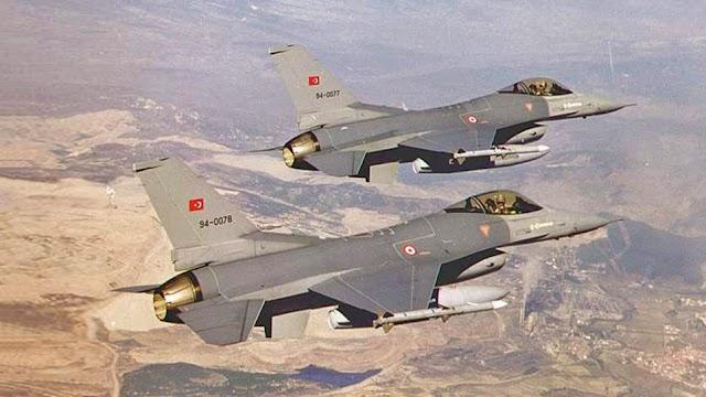Τουρκικό F-16 καταστράφηκε μετά από αερομαχία με ελληνικά μαχητικά