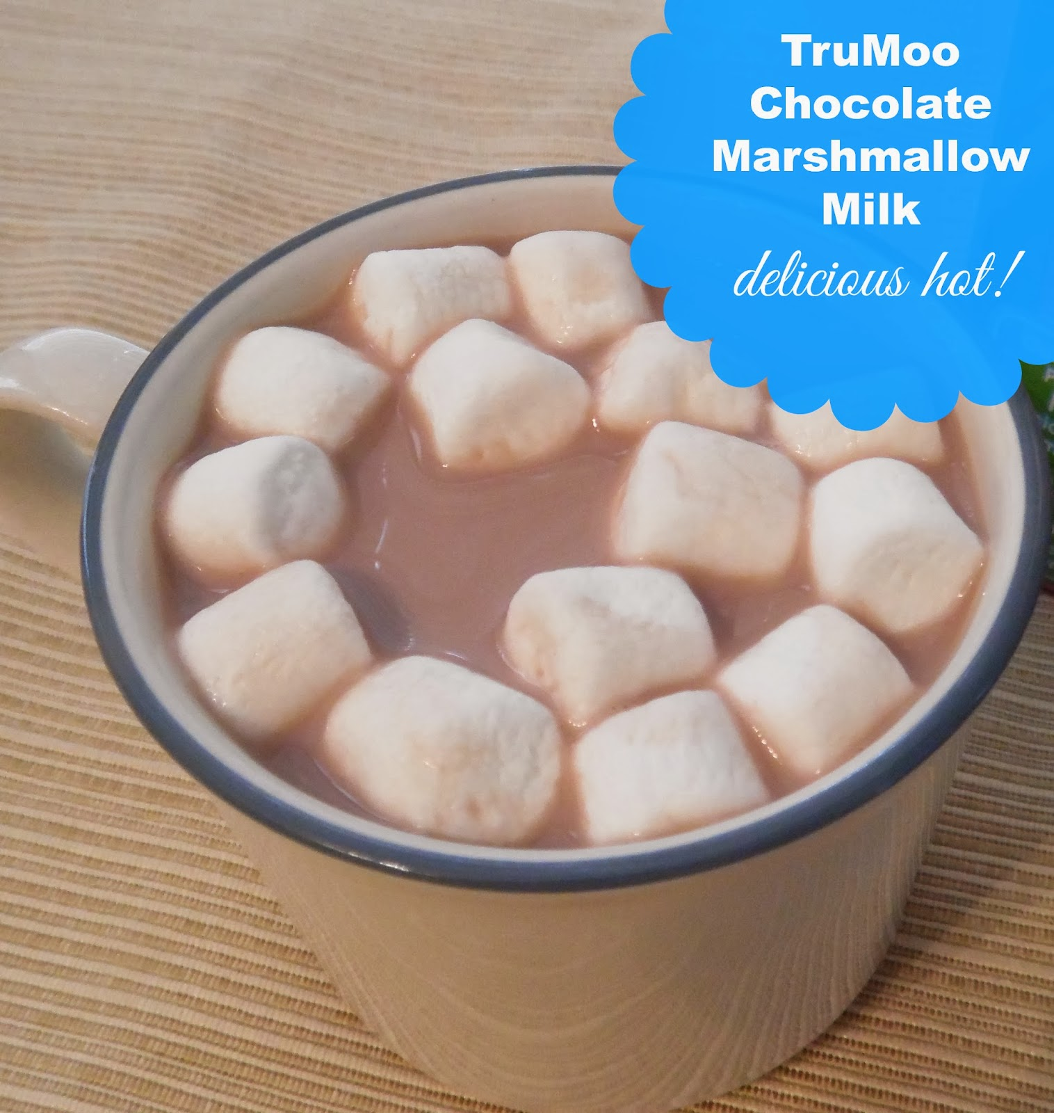 #TruMoo Introduces New Chocolate Marshmallow Milk -- Try it Hot or Cold! Plus a $500 Giveaway