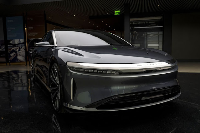 #Saudi-Backed Lucid in Talks for Electric Car Factory Near Jeddah - Bloomberg