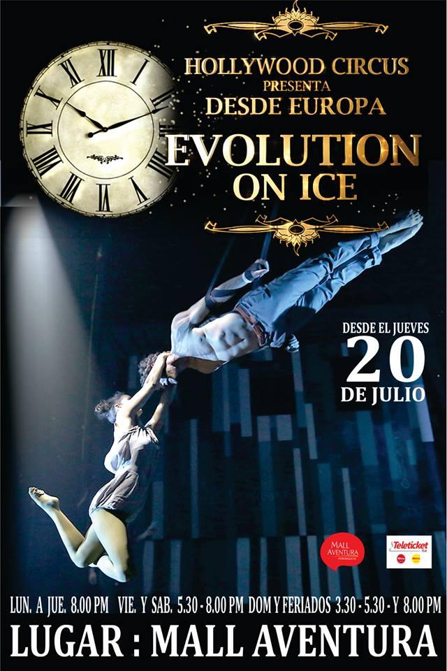 Circo Evolution On Ice en Arequipa, del 20 de julio al 20 de agosto