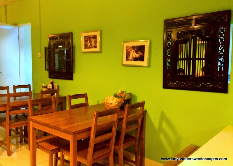 the humble and homey Betawi restaurant