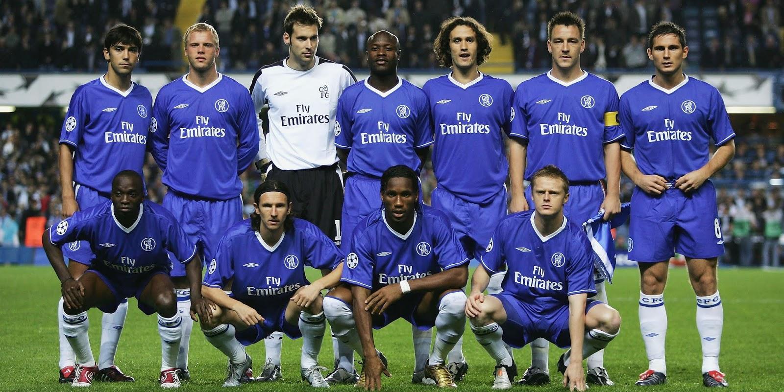 jose mourinho chelsea squad 2004/05 premier league champions