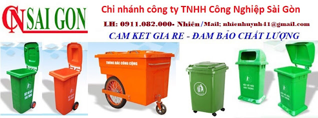 Bán thùng rác giá rẻ tại cần thơ- thùng rác 120 lít 240 lít 660 lít, thùng rác 3 ngăn giá sỉ- lh 091