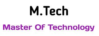 M.Tech का Full Form