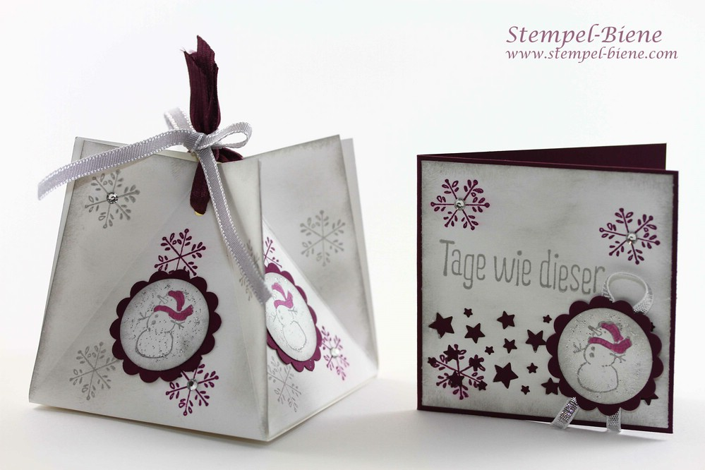 Stampin Up Teamtreffen, Vorteile Stampin Up Demonstrator, Erinnerungskarte, Stampin Up Weiße Weihnacht