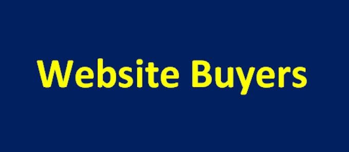 Website Buyers