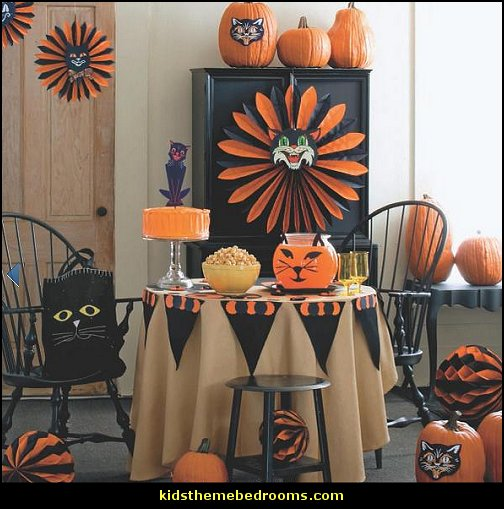 Bedroom Halloween Decor
