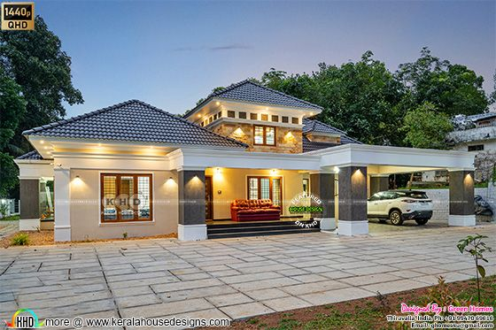 Completed house photograph